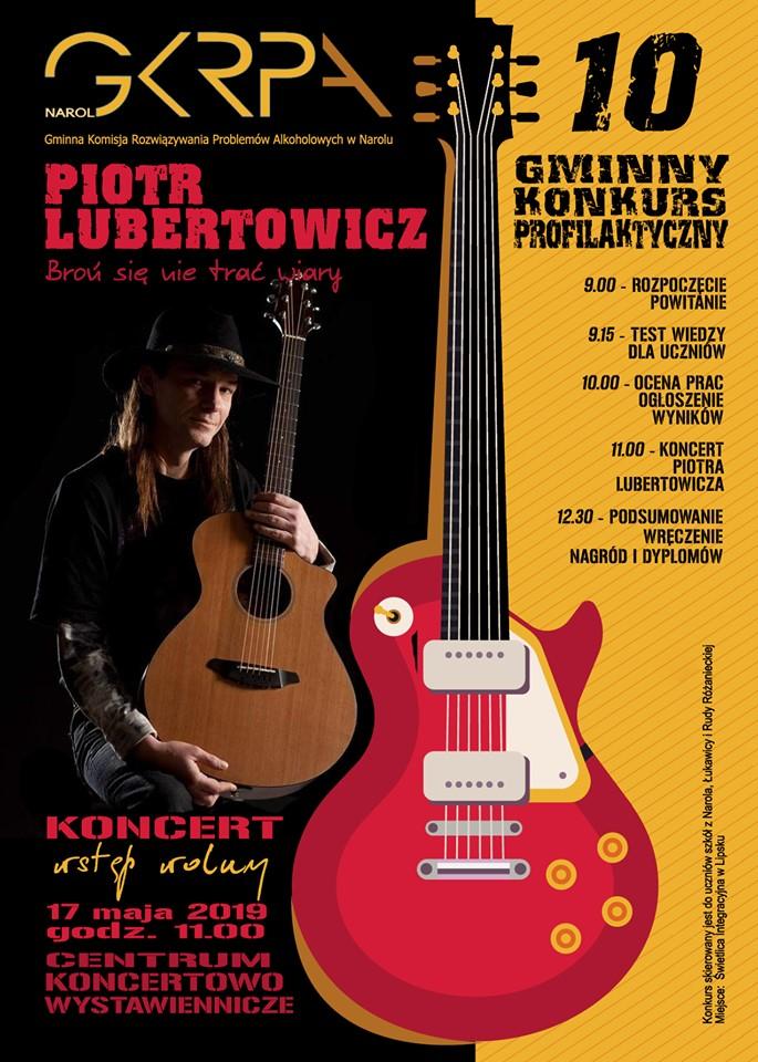 Koncert Piotr Lubertowicz
